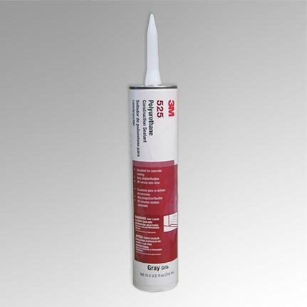 3M 525 Polyurethane Adhesive-Sealant Gray 0.1 gal Cartridge