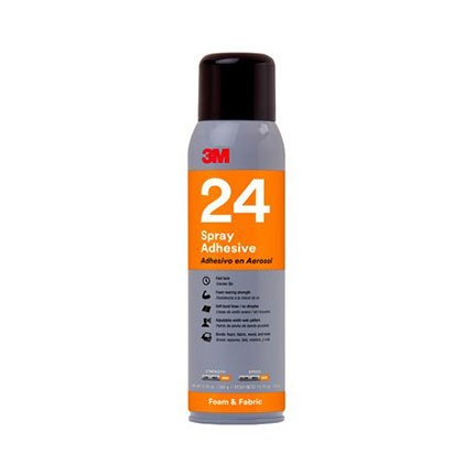 3M 24 Spray Adhesive Orange 13.8 oz Aerosol