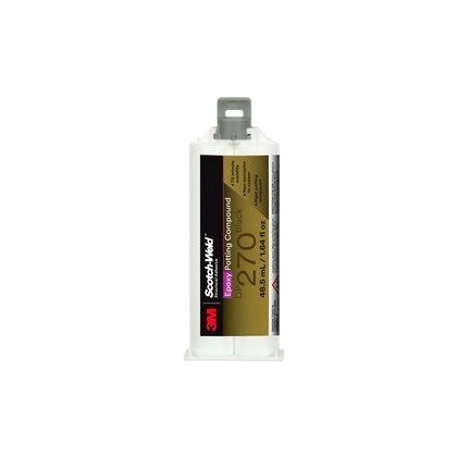 3M Scotch-Weld DP270 Epoxy Potting Compound Black 48.5 mL Duo-Pak Cartridge