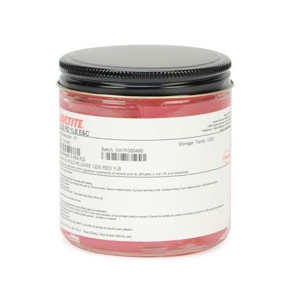 Henkel Loctite 122 S Mold Release Agent Red 1 lb Jar