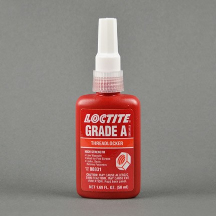 Henkel Loctite 088 Threadlocker Anaerobic Adhesive Red 50 mL Bottle