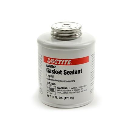 Henkel Loctite 1522029 Aviation Gasket Sealant Brown 1 pt Can