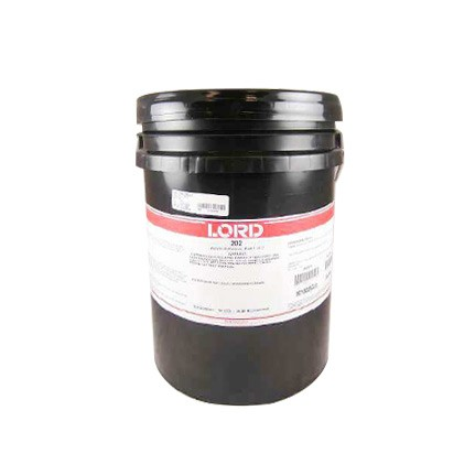 LORD® 202 Acrylic Adhesive Base Off-White 5 gal Pail