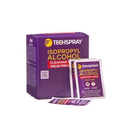 Techspray 1610 Isopropyl Alcohol Wipes