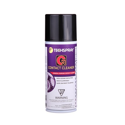 Techspray 1632 G3 Contact Cleaner Clear 16 oz Can