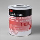 3M 1300L Neoprene High Performance Rubber and Gasket Adhesive Yellow 1 gal Can