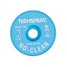 Techspray 1820 No-Clean Desoldering Braid White 10 ft