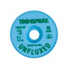 Techspray 1832 Unfluxed Desoldering Braid Green 5 ft